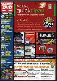 computer shopper magazine dvd cover